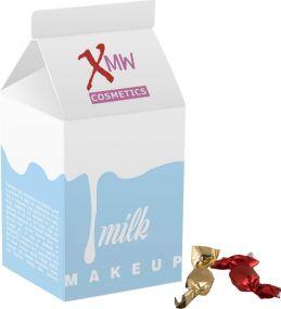 Milchpackung Metallic Sweets als Werbeartikel