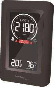 WL 1030 Luftgütemonitor/CO2-Anzeige/CO2-Ampel mit grafischen Lüftungsempfehlungen als Werbeartikel