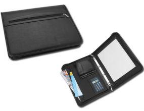ELEANOR Dokumentenmappe mit Notizbuch und Taschenrechner als Werbeartikel