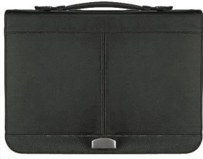 Executive Business Portfolio Maxi Zip 4 Blackmaxx® als Werbeartikel