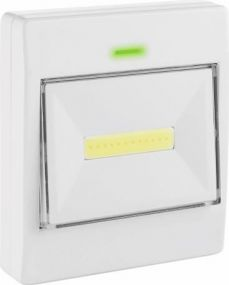 LED MegaBeam Lichtschalter Klick Klack Metmaxx® als Werbeartikel