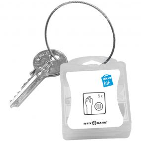 MicroKit Schlüsselanhänger Plaster als Werbeartikel