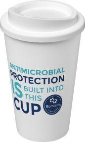 Americano® Pure 350 ml antimikrobieller Isolierbecher als Werbeartikel
