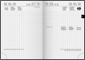 Taschenkalender Modell 736