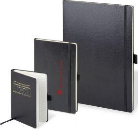 Notizbuch Kompagnon A4 kariert als Werbeartikel