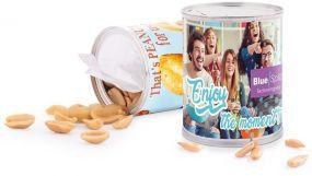 Snack Dose, Mandel gesalzen als Werbeartikel
