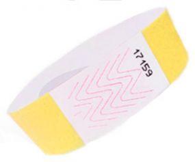 Tyvek Vliesartige Handgelenk-Eintrittsbänder als Werbeartikel