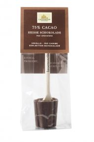 Heiße Schokolade - Plain Edelbitter, 75% Cacao als Werbeartikel als Werbeartikel