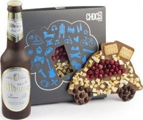 Schokolade Set Bier und Auto als Werbeartikel als Werbeartikel