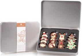 Schokolade Weihnachtliches Set I als Werbeartikel