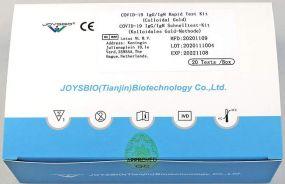 Antikörpertest (IgG/IgM) Joysbio Covid als Werbeartikel