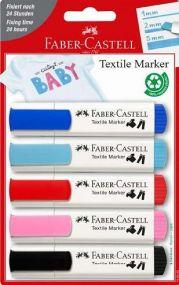 Textilmarker 5er Set als Werbeartikel