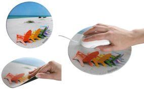 Mousepad Form Circle 1 als Werbeartikel als Werbeartikel