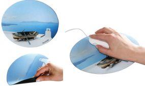 Mousepad Form Oval als Werbeartikel als Werbeartikel