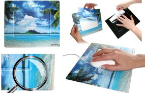 Mousepad mit Fotoeinschub Square1 als Werbeartikel