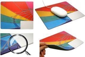 Mousepad mit Visitenkarten-Einschub No. 3 als Werbeartikel