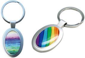 Schlüsselanhänger Oval als Werbeartikel als Werbeartikel