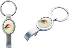 Schlüsselanhänger Ovalbottle als Werbeartikel als Werbeartikel