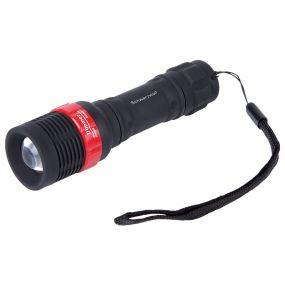 Taschenlampe Cree Puga Schwarzwolf® als Werbeartikel
