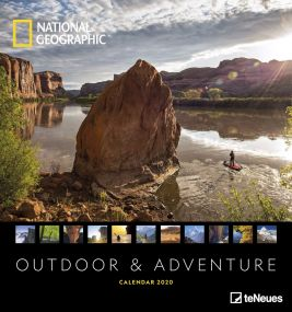 Kalender Outdoor & Adventure National Geographic als Werbeartikel