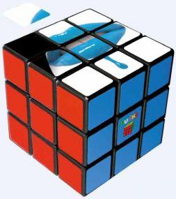 Original Rubiks Cube 3x3 57mm Digitaldruck als Werbeartikel