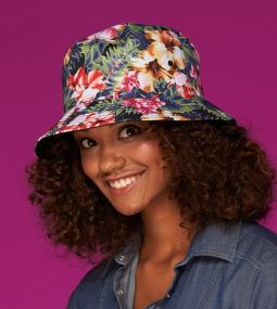 Trendiger Hut Colourful Bucket