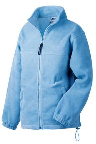 Fleece-Kinderjacke Full-Zip als Werbeartikel
