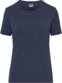 BIO Stretch Damen Arbeits-T-Shirt - Solid