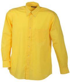Restposten Herrenhemd Promotion Langarm als Werbeartikel