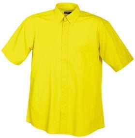 Restposten Herrenhemd Promotion Kurzarm als Werbeartikel
