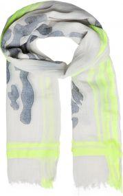 Leichter Schal mit modischem Jacquardmuster als Werbeartikel