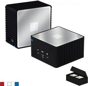Corner Bluetooth-Speaker Stereo Set als Werbeartikel