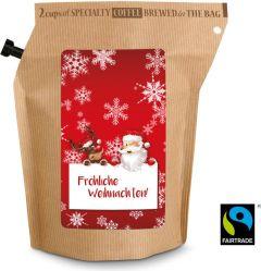 Bio-Weihnachts-Kaffee als Werbeartikel