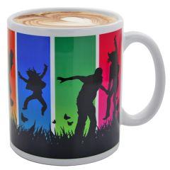 Kaffeetasse Carina Diamond-Coating als Werbeartikel