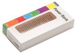 Verpackung: Kartonage mit Sichtfenster für Powerbank als Werbeartikel