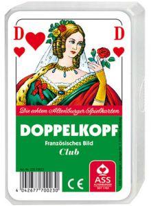 Doppelkopf Französisches Bild inkl. Werbedruck als Werbeartikel