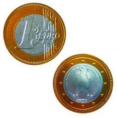Schokoladen-Euromünze (38 mm) Standard als Werbeartikel