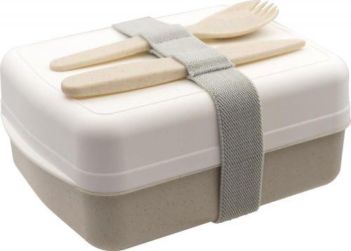 Lunchbox mit Besteck