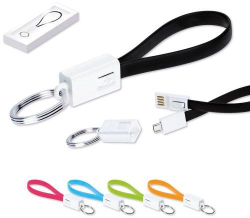 Schlüsselanhänger USB Kabel bedrucken