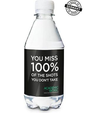 Wasserflasche bedrucken lassen