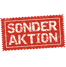Sonderaktion: Preise inkl. Veredelung bis 31.12.2020 - ab 100 Stk.