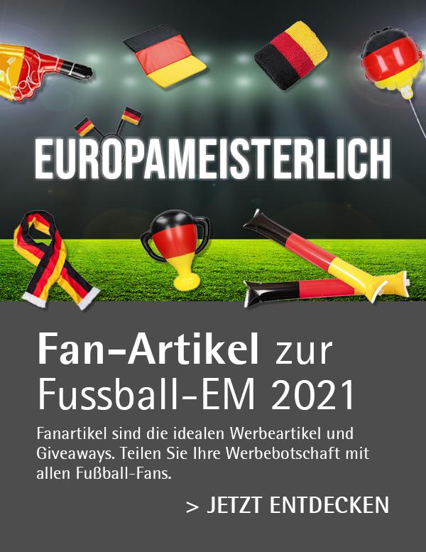 Fanartikel bedruckt als Werbemittel - UEFA EURO 2020
