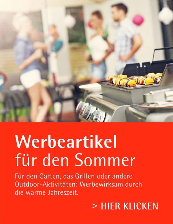 Werbeartikel für den Sommer