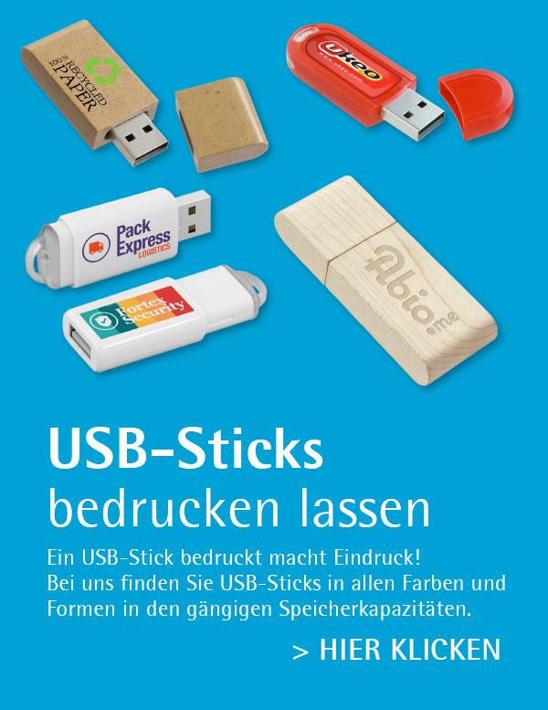 USB-Sticks als Werbeartikel von absatzplus